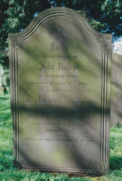 John Phillips gravestone