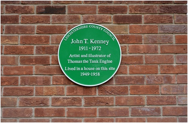 KenneyPlaque