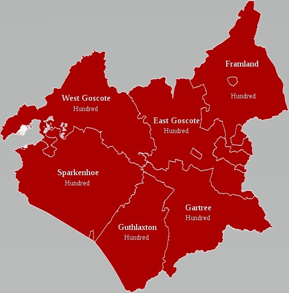 Leicestershire Hundreds