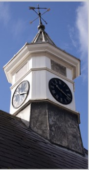 Manor clock tower