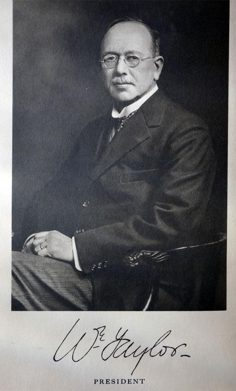 William Taylor 1931