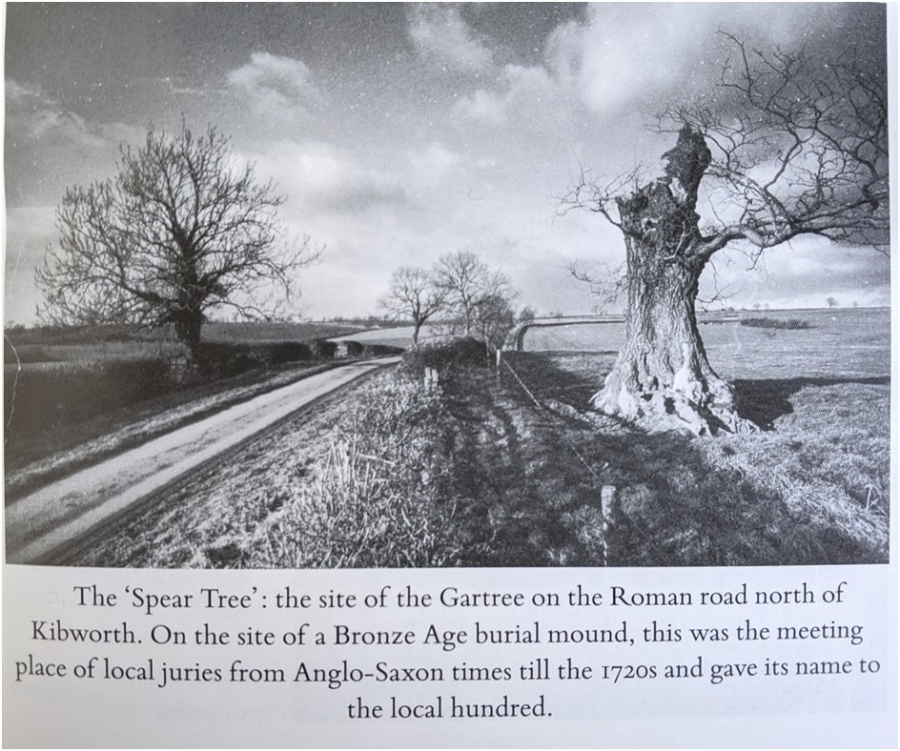 The Gartree Hundred and the Gartree Oak