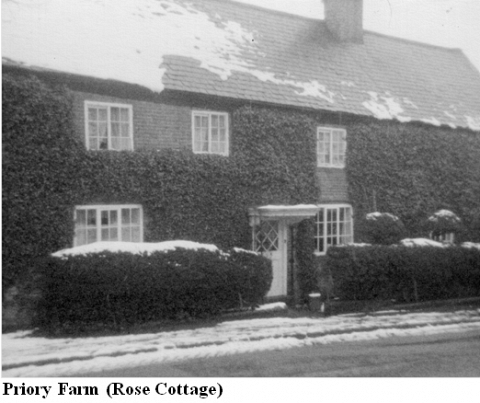 Priory Farm Rose Cottage